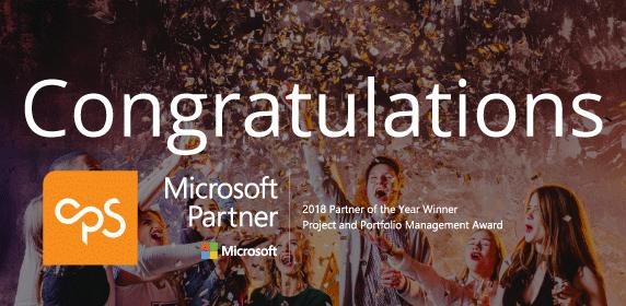 <b>Press Release:</b>CPS, partner of edison<b>365</b> wins Microsoft Global Partner of the Year Award for PPM