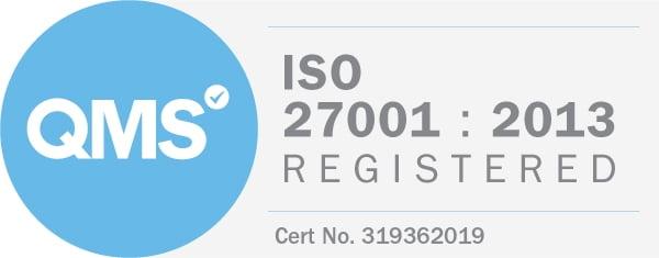 e365_ISO27001 badge
